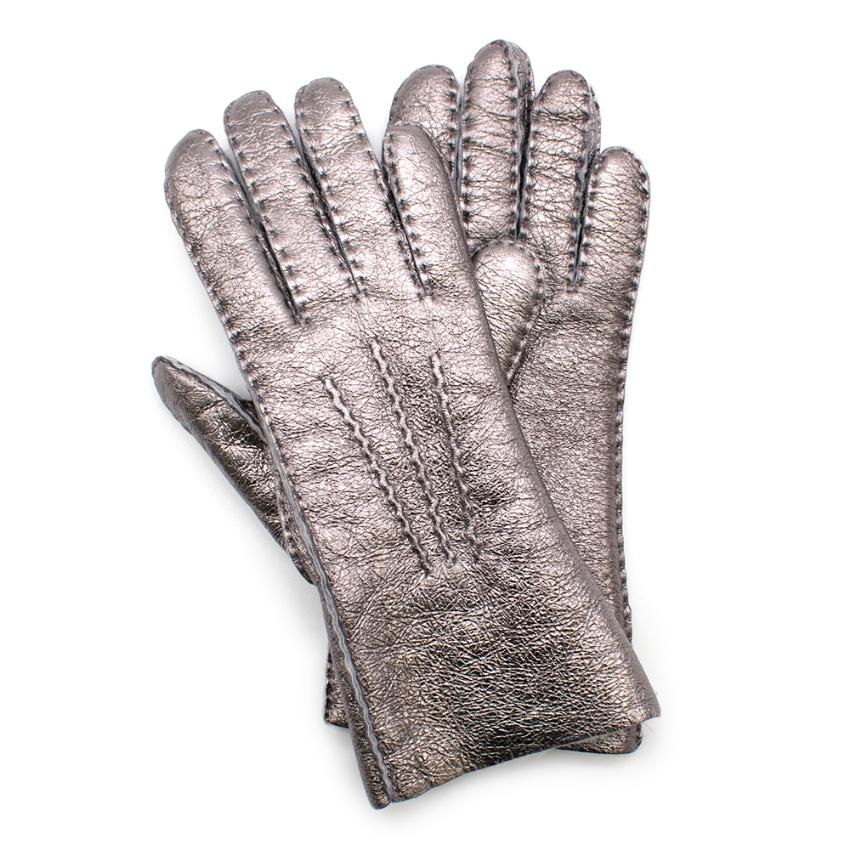 Bonpoint Girl's Metallic-Accent Gloves