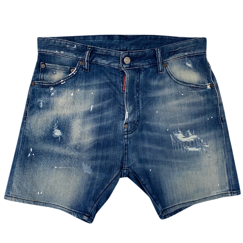 DSquared Denim Distressed Shorts
