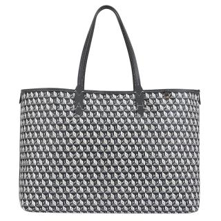 Anya Hindmarch Charcoal Recycled Coated Canvas Tote - Pre Season