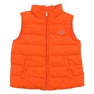 Gucci 2Y Neon Orange Gilet