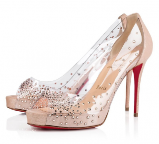Christian Louboutin Very Strass Prive Pumps