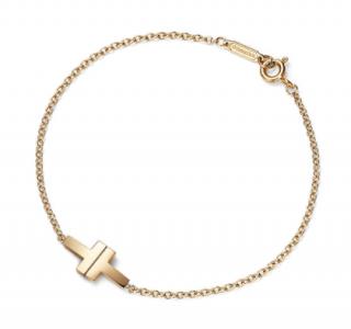 Tiffany & Co. T Two Single Chain Bracelet