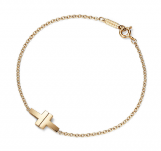 Tiffany & Co. T Two Single Chain Bracelet