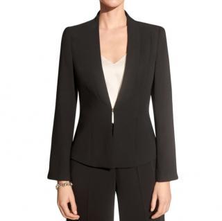 The Fold Le Marais Tuxedo Jacket in Black
