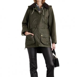 Barbour x Alexa Chung Olive Waxed Coco Jacket