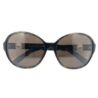 Chanel Perle Collection 5141 Tortoiseshell Sunglasses