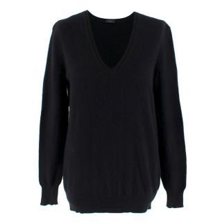 Joseph Black Cashmere Sweater