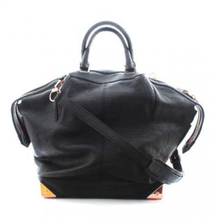 Alexander Wang Black Pebbled Leather Tote Bag