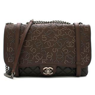 Chanel Paris/Dallas Studded Buckle Flap Bag