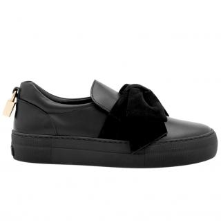 Buscemi 40mm Bow Black Sneakers