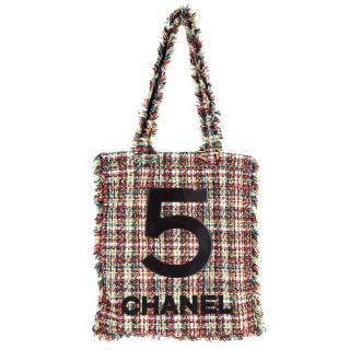 Chanel No.5 Large Tweed Limited Edition Tote