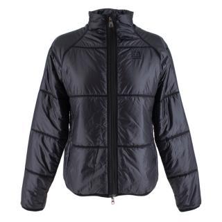 66 North Black Padded Collar Jacket