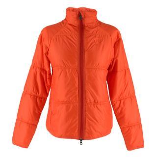 66 North Neon Orange Primaloft Collar Jacket