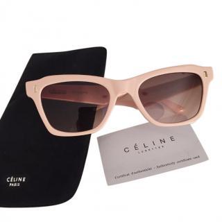 Celine Beige 40058 Sunglasses