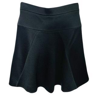 Temperley Black A-Line Skirt