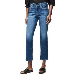 Frame Le High Straight Crop Jeans