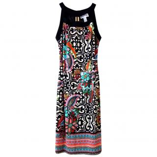 Joseph Ribkoff multi print dress