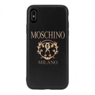 Moschino Double Question Mark iPhone X Cover