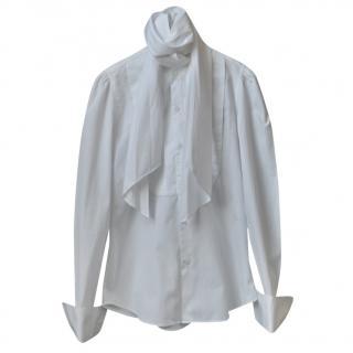 Ralph Lauren Blue Label White Cotton Shirt