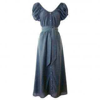 Mara Hoffman Button Down Midi Dress