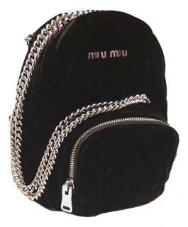 Miu Miu Velvet Chain Detail BackPack