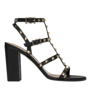 Valentino 90 mm rockstud ankle strap sandals