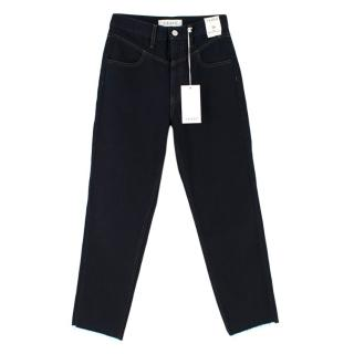 Trave Heidi High Waisted Crop Straight Jeans