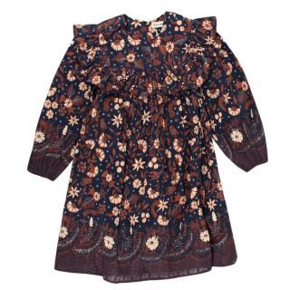 Ulla Johnson Kimaya Dress in Midnight