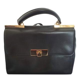 Michael Michael Kors Black Leather Satchel