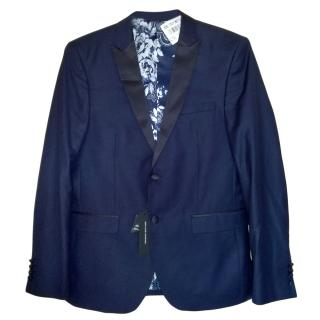 Jean Louise Scherrer Leonardo Navy Suit