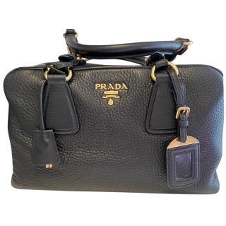 Prada Black Leather Tote bag