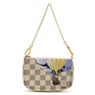 Louis Vuitton Damier Azur Balloon Illustre Mini Pochette Accessories