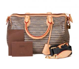 Louis Vuitton Metallic Monogram Argent Speedy 30 Bag