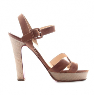 Christian Louboutin Strappy Platform Sandals