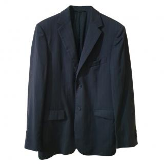Strenesse Striped Grey Wool Jacket