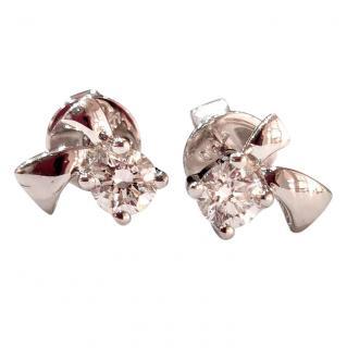 Bespoke 0.14ct Diamond Shooting Star Earrings