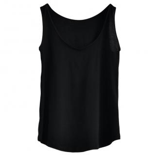 Bottega Veneta Black Cotton Blend Vest