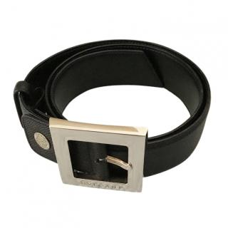 Bvlgri Epi Leather Belt