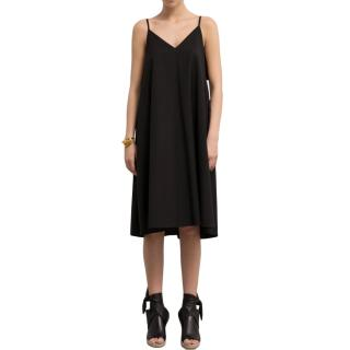 Loewe Trapeze Wool Crepe Dress - Current Season