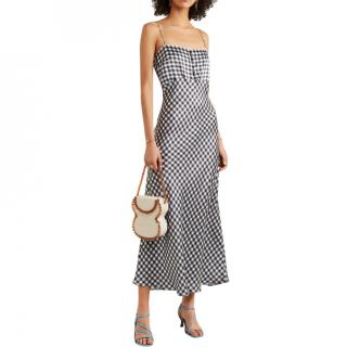 Bernadette Gingham Midi Dress