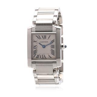 Cartier Tank Francaise Strainless Steel Watch