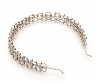 Chanel CC Eyelet Ring Headband