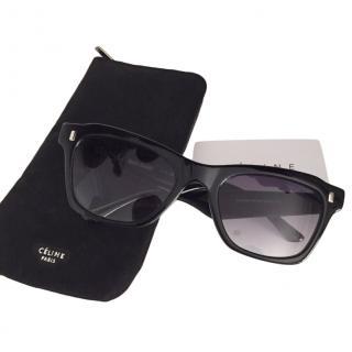 Celine 40058 Black Sunglasses