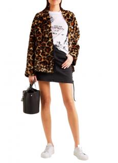 McQ by Alexander McQueen Leopard print Faux Fur Jacket