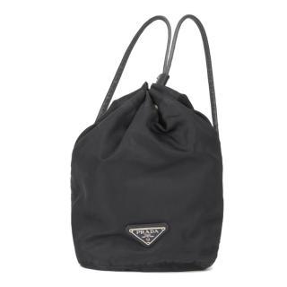 Prada Black Vintage Nylon Backpack