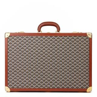Goyard Canvas & Leather Monogram VIntage Trunk