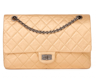 Chanel Gold Leather 2.55 Reissue Flap 226