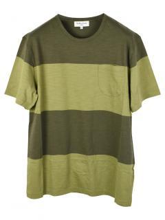YMC Green Striped T-Shirt