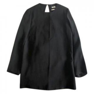 Hermes Silk Black Tunic