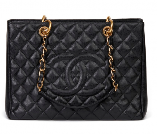 Chanel Caviar Leather Grand Shopping Tote